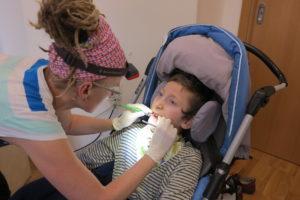 Dentální hygiena - v kočáře