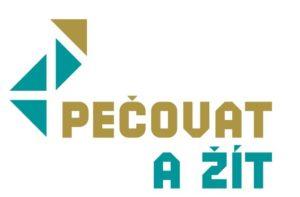 Logo projektu Pečovat a žít
