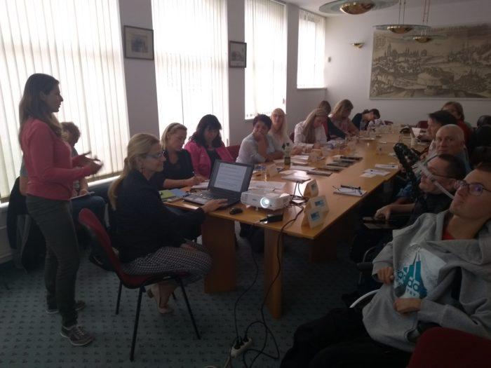 Fotografie ze setkání pro rodiny s nervosvalovým onemocněním