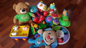 zvukové hračky