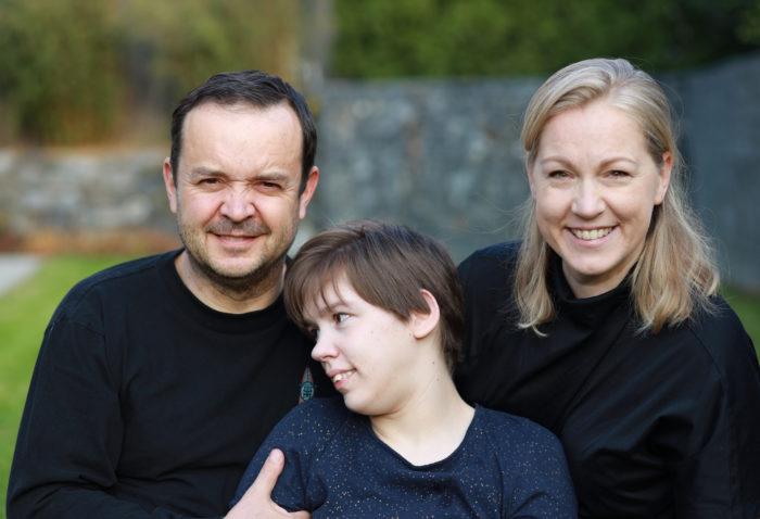 Eva Nemčková s manželem a dcerou Pauli
