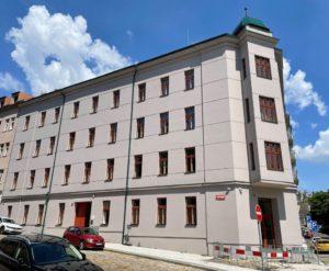 Budova, kde bude poskytována odlehčovací službač